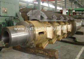 steel cold rolling mill payoff reel mandrel shaft