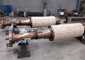 Recoiler mandrel and uncoiler mandrel for steel continuous galvanizing line(CGL)