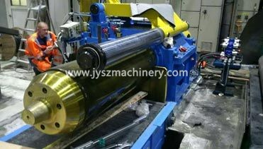 Recoiler machine exported to Finland
